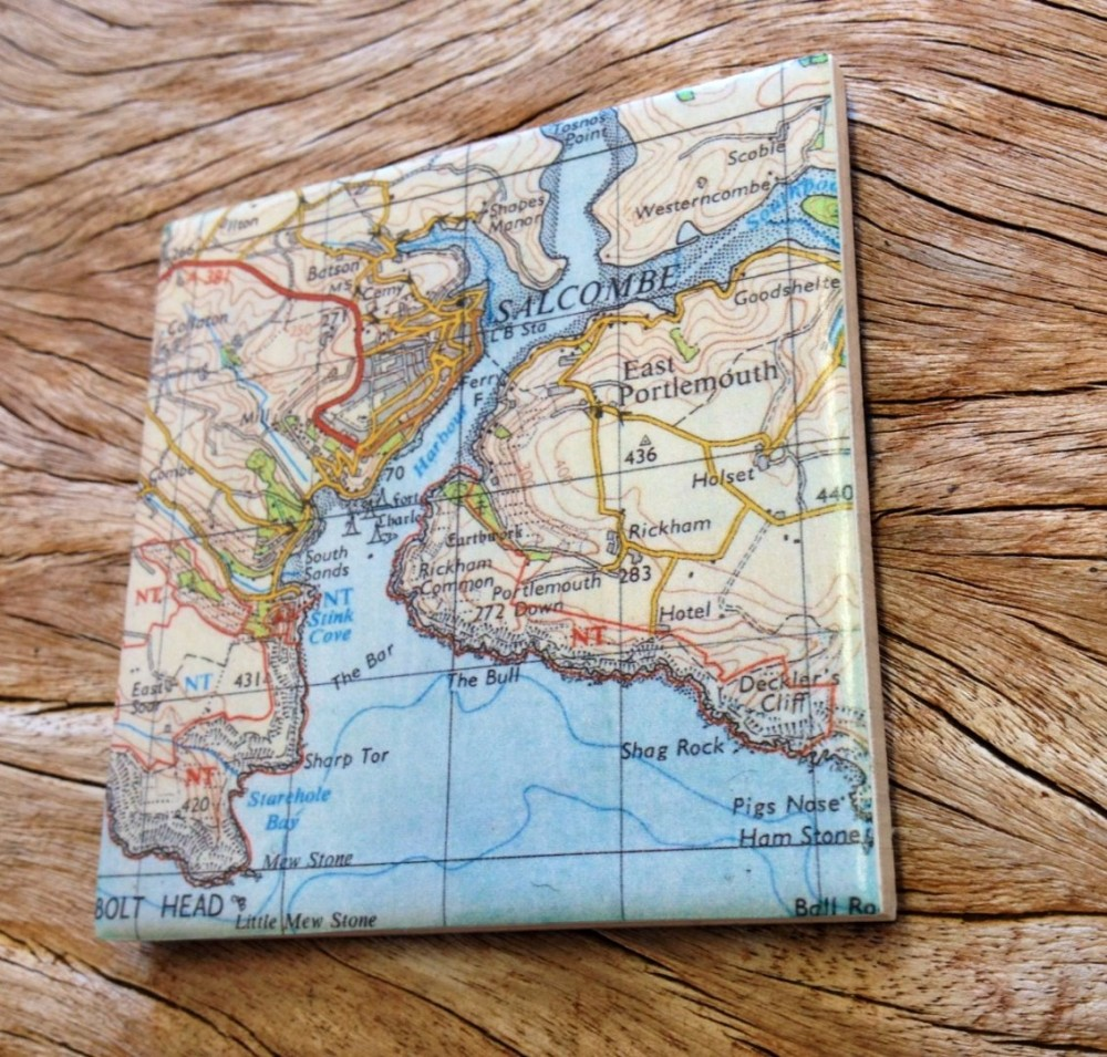 Devon map products