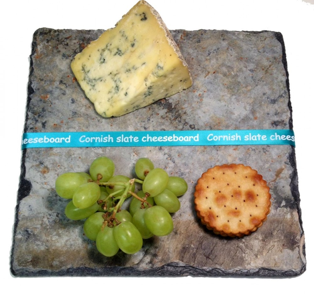 Cornish slate square cheeseboard