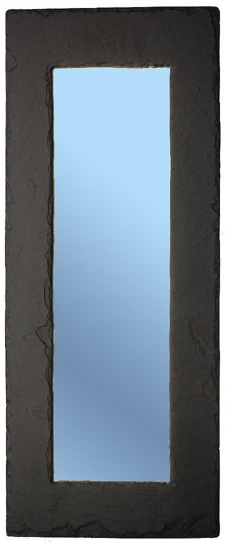 Slate oblong mirror