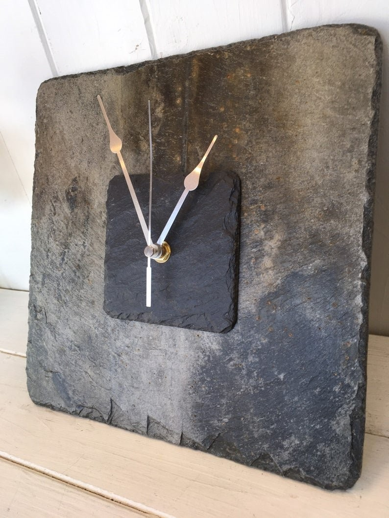 Cornish slate clock
