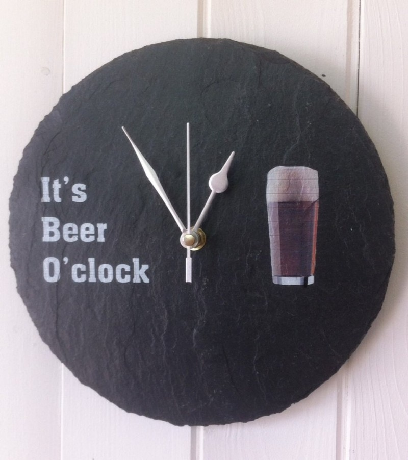 It's beer o' clock