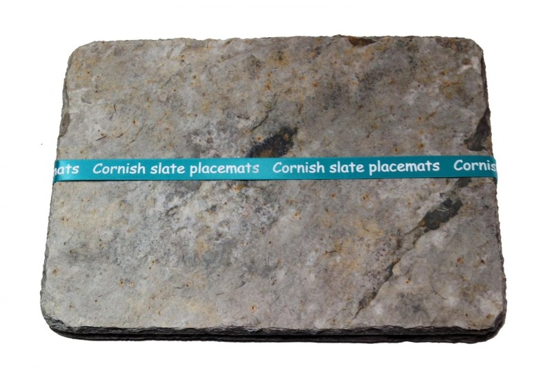 Cornish slate placemats