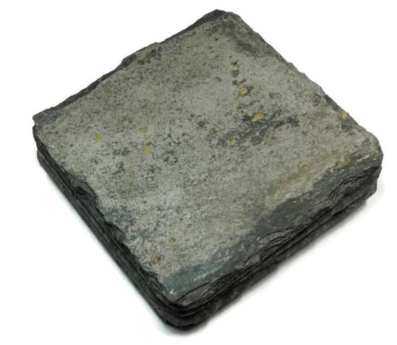 Cornish slate coasters