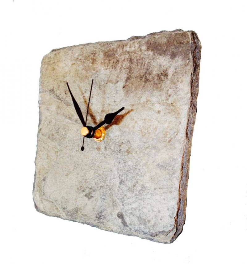 Cornish Slate square clock